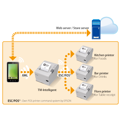 Printer Hub Tm Intelligent Technologies Pos Epson